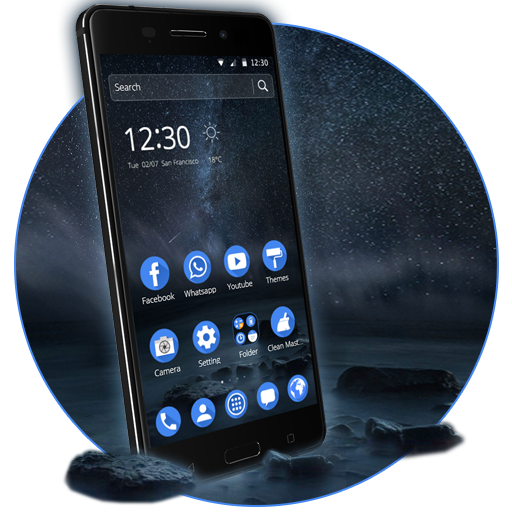 Launcher Theme For Nokia 6