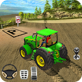 Farm Tractor Parking Sim: Tractor Games