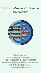Motor Insurance Premium Calculator Apk  Download For Android 1