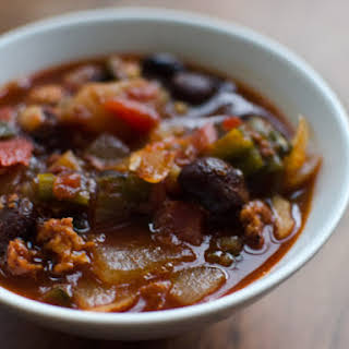 Chipotle and Chorizo Red Beans.