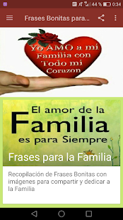 Frases Bonitas Para La Familia Apps On Google Play
