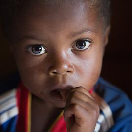 sparkling eyes by Radonirina Ramiandrisoa - Babies & Children Child Portraits ( editorial, baby boy, candid, reportage, portrait, people, eyes )