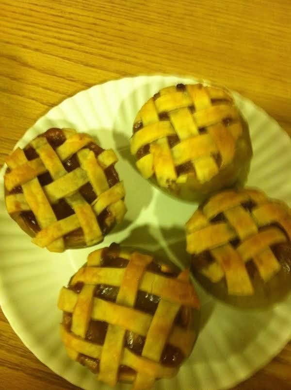 Apple Pie In A Apple