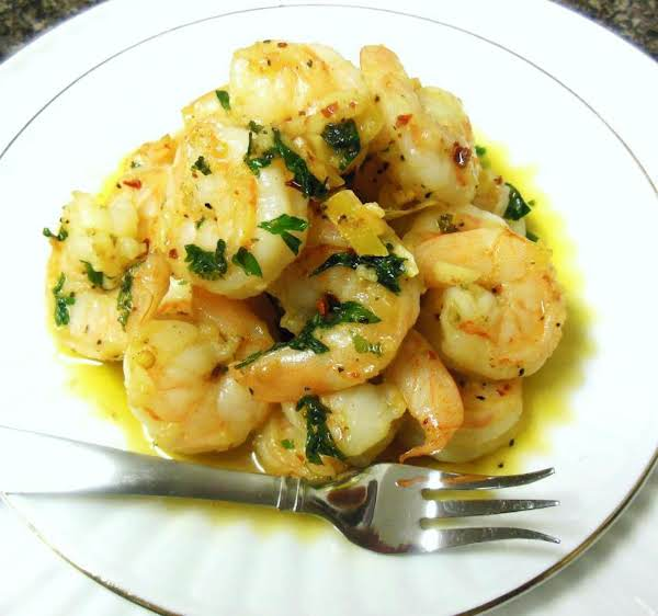Sauteed Greek Style Shrimp