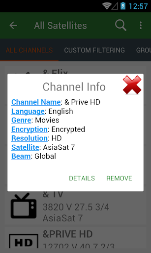 AsiaSat Frequency List - Apps on Google Play