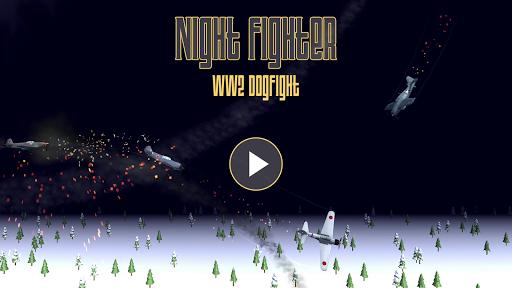Code Triche Night Fighter: WW2 Dogfight APK MOD (Astuce) screenshots 1