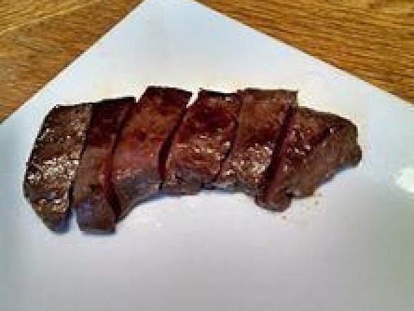 Venison Steak London Broil Recipe