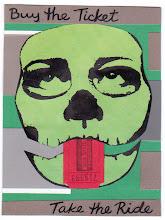 Photo: Wenchkin's Mail Art 366 - Day 174, card 174c
