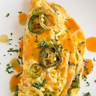 Spicy Pepper Lovers Omelet.