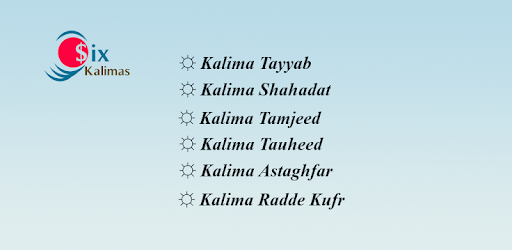 Six Kalimas with Arabic and Translation - Apps on Google Play
