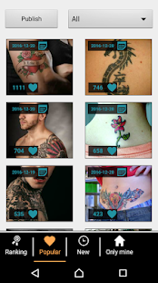 Tattoo my Photo 2.0- screenshot thumbnail