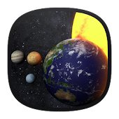 Solar System 3D Free Live Wallpaper