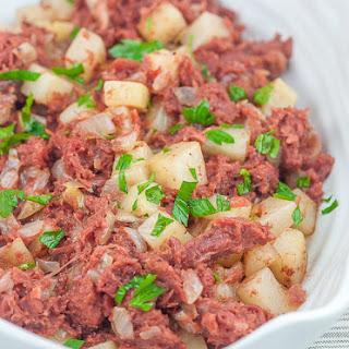 Corned Beef and Potato Casserole