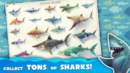 Hungry Shark World v1.8.4 [Mod Money]