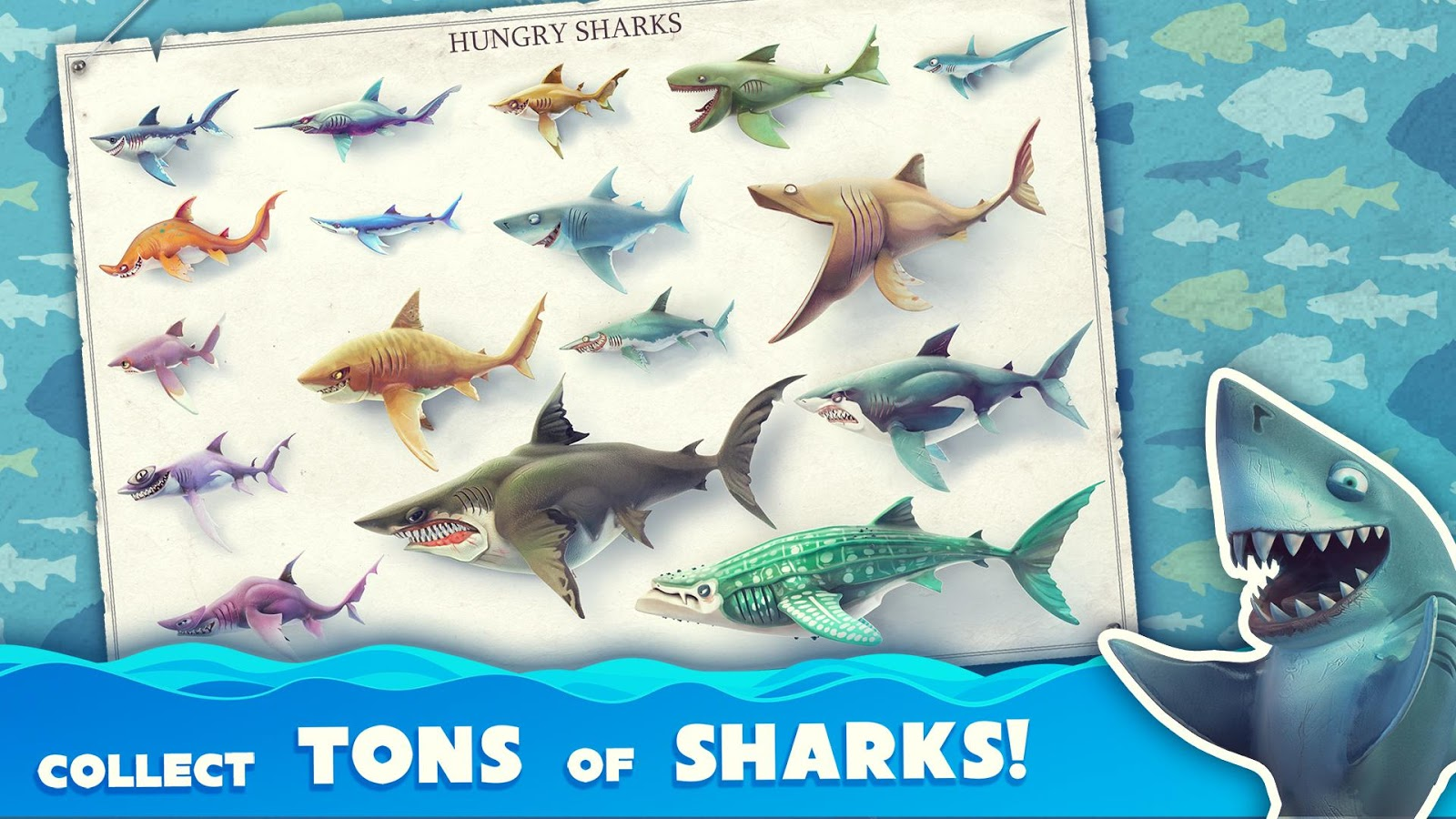 Hungry Shark World– captură de ecran