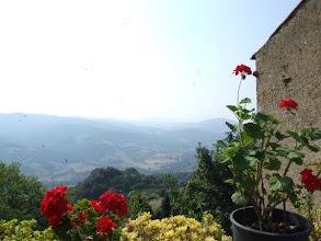 Photo: Die Luft ist tatsächlich kühler, die Aussicht grandios, ...
