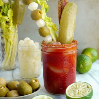 Dill Pickle Bacon Bloody Mary.