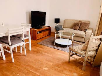 Appartement meublé 2 pièces 27,23 m2