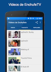 Videos de EnchufeTV screenshot 1
