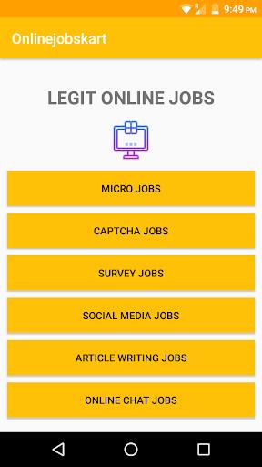 Onlinejobskart - Money Making App, Work From Home screenshots 2