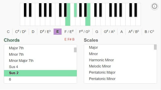 Piano Chords and Scales - Apps on Google Play