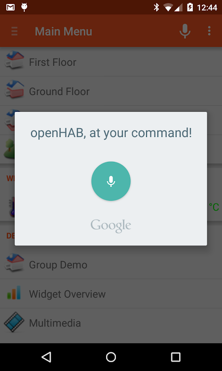openHAB – (Android Ứng dụng) — AppAgg