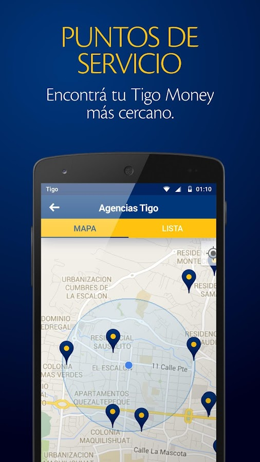 Tigo Money El Salvador- screenshot
