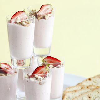 Strawberry Almond Mousse