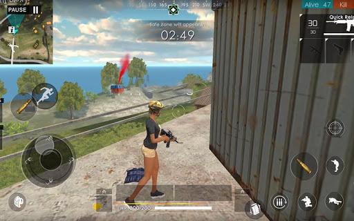 Squad Survival Free Fire Battlegrounds 3D 3.2 screenshots 7