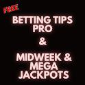 Betting Tips Pro : Midweek & Mega Jackpot tips icon