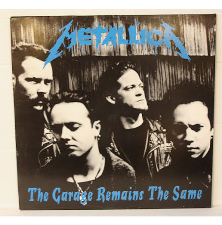 Metallica - The Garage Remains The Same - LP