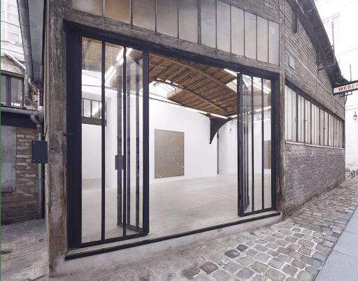 galerie frank elbaz exterieur