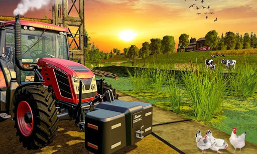 Code Triche Khakassia Organic Tractor Farming Simulator 2019 mod apk screenshots 2