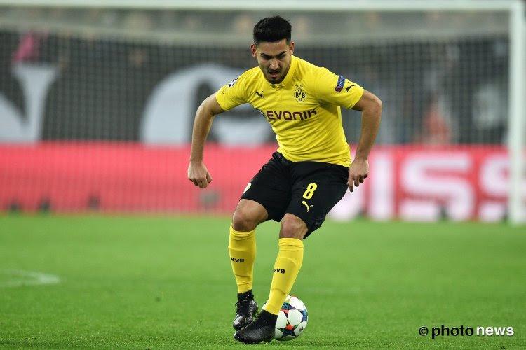 Ilkay Gündogan refuse de prolonger à Dortmund