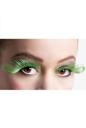 Lösögonfransar, svart/gröna