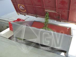Photo: Gas Vapor S.L. - www.gv.iei.es Instalación de Áreas de Recepción y Cocido-Tolva de Recepcion
