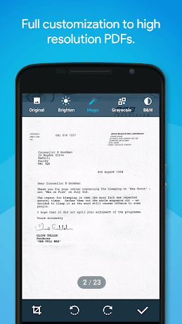 Quick PDF Scanner Pro 5.1.638 (Paid) APK
