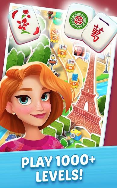 Mahjong City Tours: Free Mahjong Classic Game Android App Screenshot