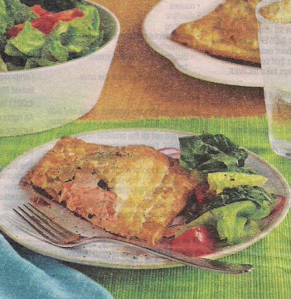 Salmon In Pastry Recipe