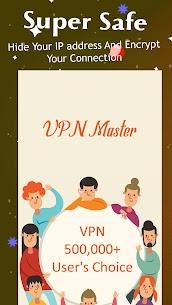 VPN Master Mod 1.7.0 Apk [Unlocked/Premium] 1