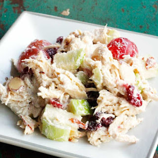 THE BEST Apple Cranberry Chicken Salad