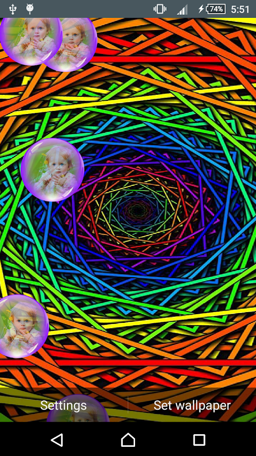Psychedelic Live Wallpaper Android Apps On Google Play