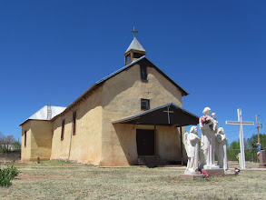Photo: Lovely church in the village of San Jose, site of our second rest stop.