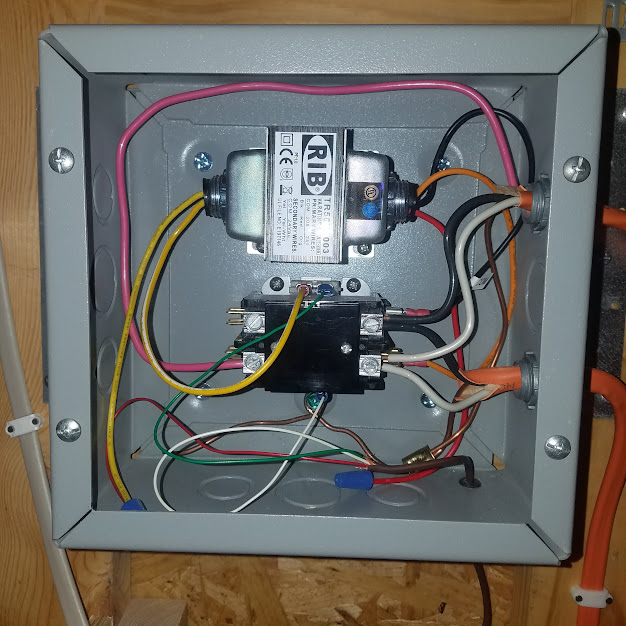 Installation of Dayton G73 Heater with Cutoff Switch and ... on