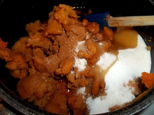 In a food processor or blender - add the yams and puree.In a large...