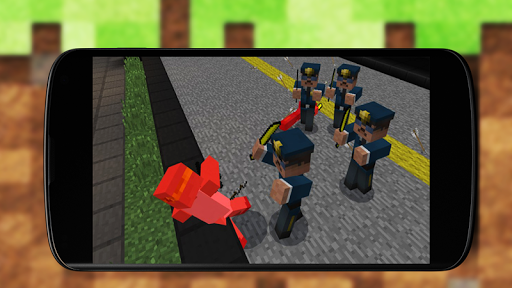 Street Wars Addon - MCPE Mods 1.1 screenshots 3