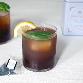 Earl Grey Vodka Cocktail.