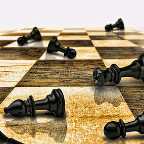 Endgame by Gerico Canlapan - Artistic Objects Other Objects ( battle, gerico canlapan, fight, chess, game )