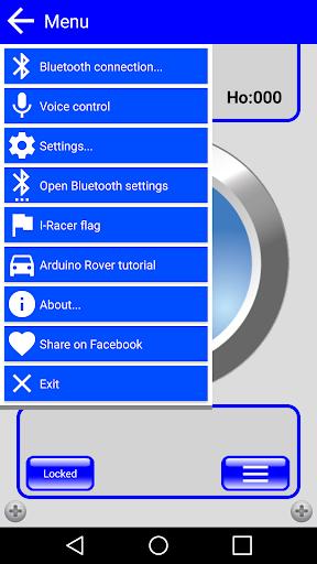 Arduino & IRacer Bt controller screenshot 3