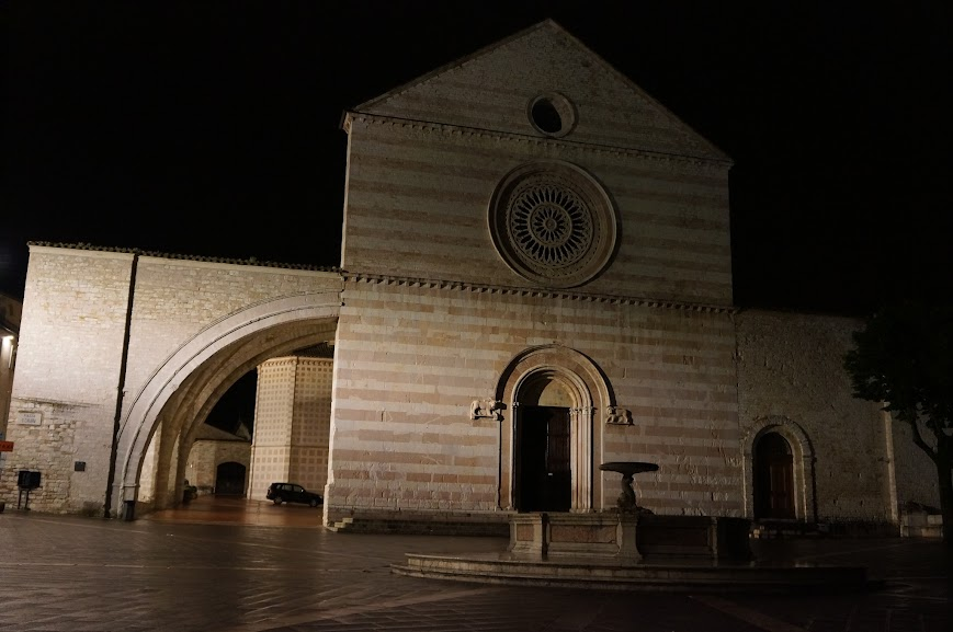 Church of St. Chiara in Assisi, Italy (2015)